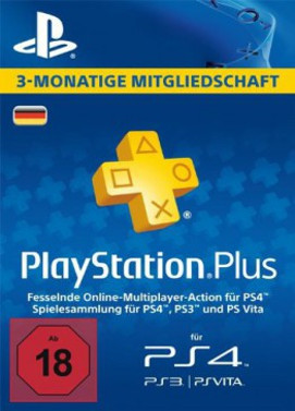Playstation Plus 90 Tage Key