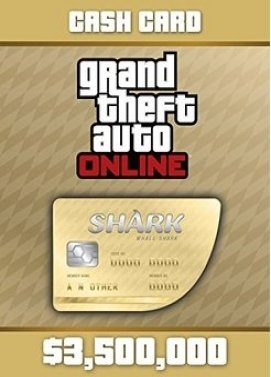 GTA Online Whale Shark Cash Card Key
