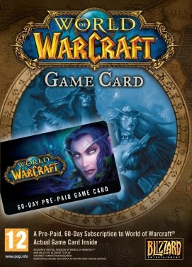 WoW Gametimecard 60 Tage