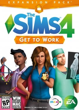 Sims 4 Get to Work Key