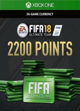 FIFA 18 2200 FUT Points XBOX