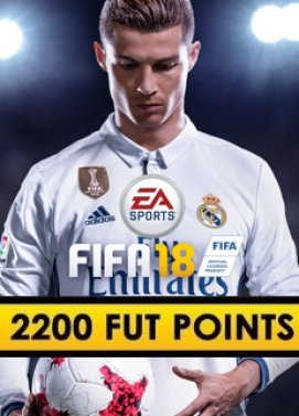 FIFA 18 2200 FUT Points Origin