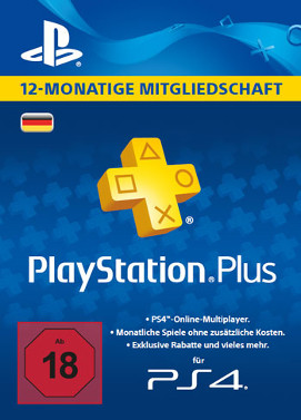 Playstation Plus 365 Tage Key