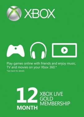 XBOX Live Gold 12 Monate Key