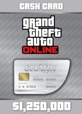 GTA Online Great White Shark Cash Card Key