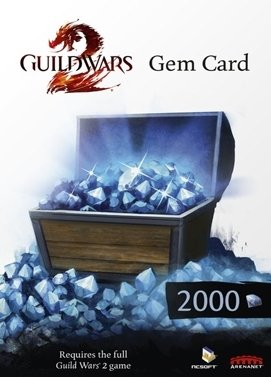 Guild Wars 2 2000 Gems Key