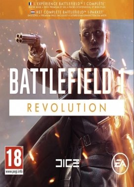 Battlefield 1 Revolution Edition Key
