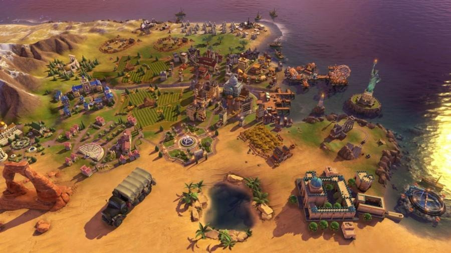 Civilization 6 Rise and Fall Key