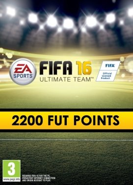 FIFA 16 2200 FUT Points Origin