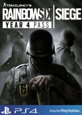 Tom Clancys Rainbow Six Siege Season Pass Year 4 Playstation